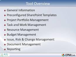 epm live u2013 positioning for enterprise project management presented
