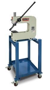 louver press metal bench press baileigh industrial
