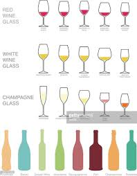 wine vector wine icons set wine bottles and glasses for wine vector art