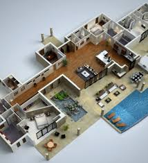 modern house floor plan simple modern house floor plans 3d decohome