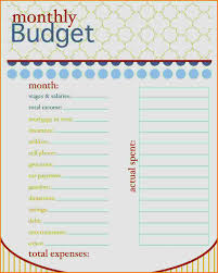 Budget Spreadsheet Template Free by 5 Budget Template Free Expense Report