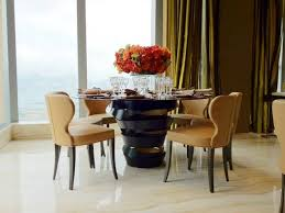 Modern Round Dining Table Wood  Delicious Modern Round Dining - Designer round dining table