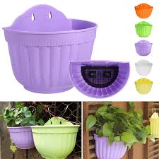 planter pot large basket wall hanging garden balcony home flower plant pot