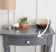 entry way table entryway table gets scandinavian style update behr
