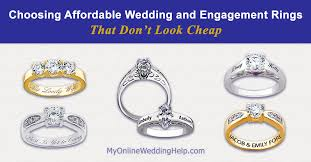 affordable wedding rings how to choose affordable engagement and wedding rings that do not