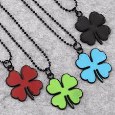 aliexpress buy nyuk mens 39 hip hop jewelry iced out nyuk lucky four leaf clover pendant necklace personality fashion