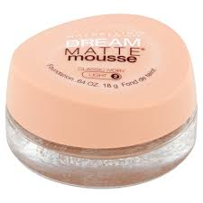 maybelline dream matte mousse classic ivory light 2 maybelline new york dream matte mousse foundation classic ivory
