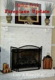 How To Update Brick Fireplace by Updating A Fireplace Fireplace Ideas