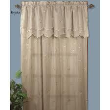 zurich leaf semi sheer window treatments