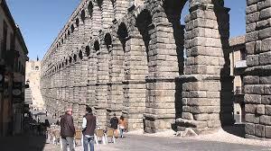 the great roman aqueduct at segovia youtube