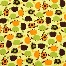 green fabric with turtles by robert kaufman fabric by