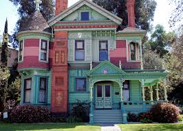 painted houses best painted lady victorian houses house style design great