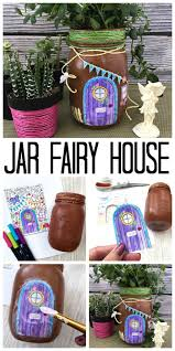 diy mason jar fairy house the country chic cottage