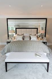 Headboard With Mirror by Bedroom Mirror Decorating Ideas Bedroom Contemporary With Bedroom