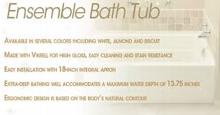 Sterling Bathtub Installation Sterling 71121110 0 Ensemble Bathtub Only Left Hand 60