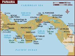 map of panama city map of panama