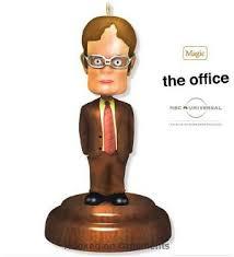 2010 dwight bobblehead the office hallmark keepsake magic