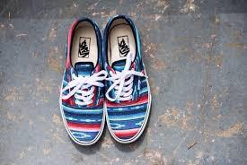blue patterned shoes shoes shorts sneakers vans patter atztec aztec pattern