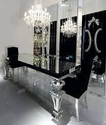 chaises design salle manger table salle a manger 6 8 personnes buffet haut design blanc moderne