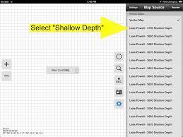 Lake Powell Map Selecting Maps Lake Powell Map