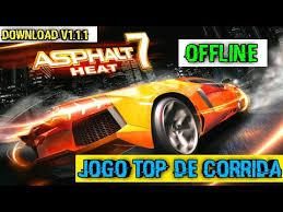 asphalt 7 mod apk asphalt 7 heat melhor jogo de corrida android offline