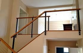luxury interior stair railing kits interior cable stair railing