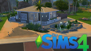 sims 4 speed build modern desert house youtube