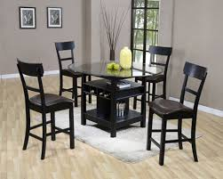 Stunning Black Kitchen Table On Small Suite Decoration Ideas Along - Black kitchen table