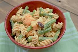 cold or fall pasta salad peppers and