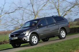 updated ssangyong korando sports truck to be renamed musso auto