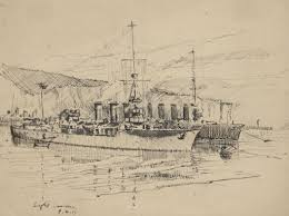 sketches of ww1 at sea through new zealand eyes
