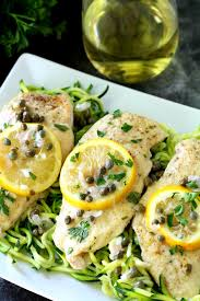 Chicken Piccata Cooking Light Chicken Piccata Over Zucchini Noodles Kim U0027s Cravings