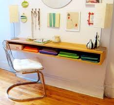 Small Floating Desk by Narrow Wooden Wall Mounted Desk Ways To Build Wall Mounted Desk