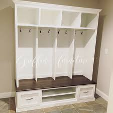 Entry Way Bench And Shelf Entryway Bench With Storage Shoe Rack Coat Rack Hall Tree Mudroom