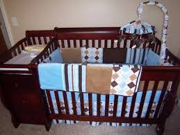 Child Craft Convertible Crib by Crib With Attached Changing Table Shelby Knox