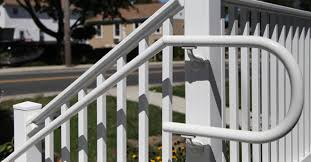 handrails for stairs vinyl handrail rdi