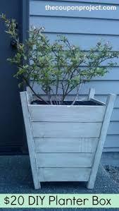 Diy Patio Planter Box Discover The Garden Trading Wooden Planter 40cm At Amara