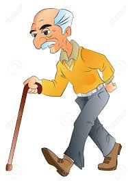 Walking Stick For Blind People People Walking Stick Clipart