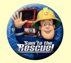 fireman sam party badges pack 6 party wizard