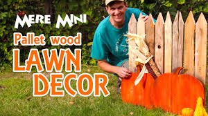 mere mini pallet wood autumn yard decoration