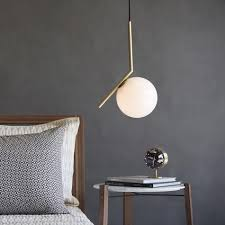lights pendants modern trends to try pendant lights over bedside tables at lumens com