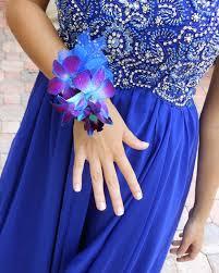 Royal Blue Boutonniere Le Fleur Boutique Shop
