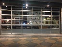 garage glass doors commercial glass garage doors i55 in nice interior home