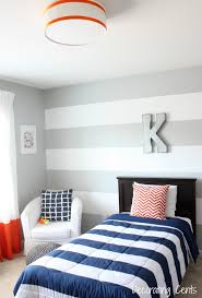 Modern Boys Room by Decorating Cents Modern Industrial Boy Room Reveal