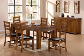 natural wood dining room tables dining room awesome dining room decoration with dark brown acacia