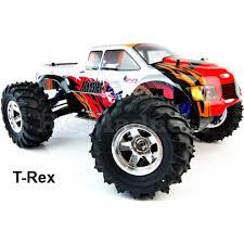 rc monster truck nitro acme conquistador nitro rc truck 4wd 1 10 t rex