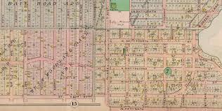 Seattle Street Map by Seattle Now U0026 Then West Woodland Neighbors Dorpatsherrardlomont