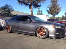 slammed honda accord 9th gen accord wheel thread pictures questions general