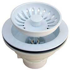 Kitchen Sink Basket Lasco 03 1059w Heavy Duty Pvc Kitchen Sink Basket Strainer