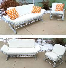Metal Sofa Glider Vintage Lawn Furniture Glider Vintage Metal Porch Glider Chair
